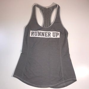 Lululemon runner up tank top